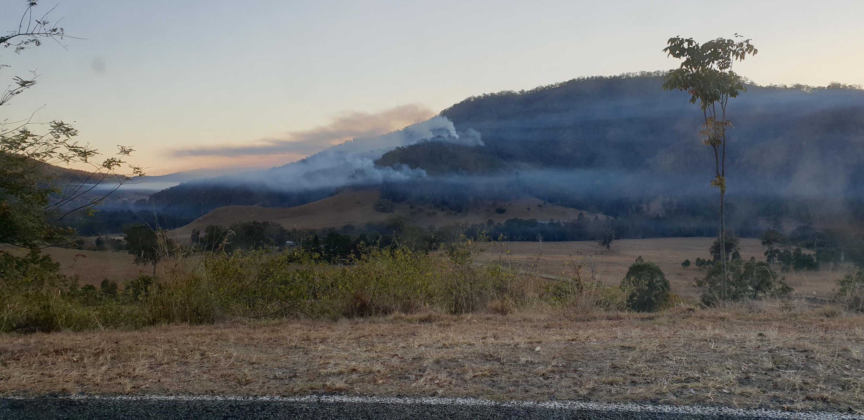 Sarabah Bushfire